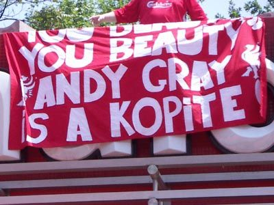 Andy Gray is a Kopite
