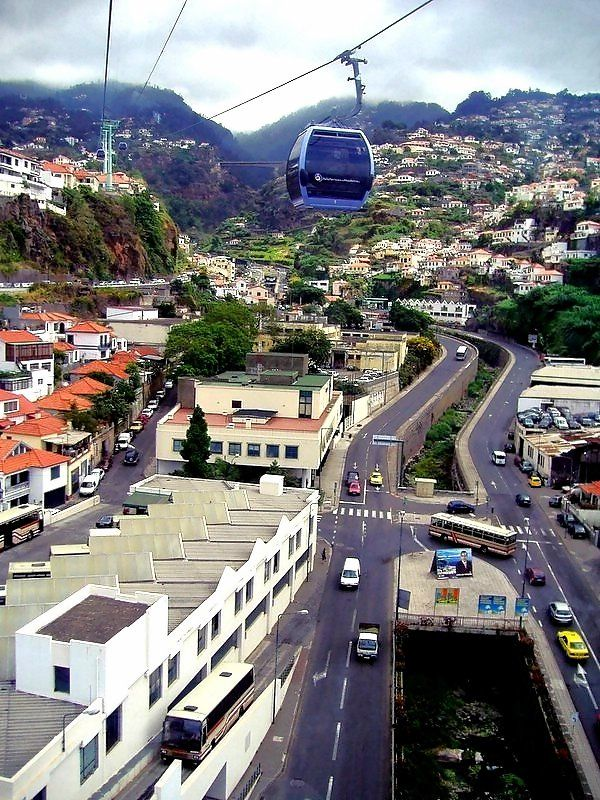 Cable Car to Monte - Funchal, Madeira, Portugal