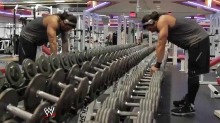 WWE Roman Reigns Workout 2014