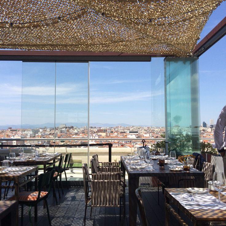 Tartan Roof. Círculo de Bellas Artes. Madrid
