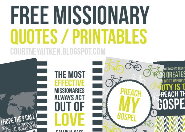 All Things Bright and Beautiful: Missionary