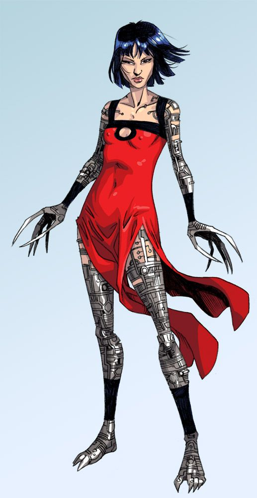 8bitmonkey:Lady Deathstrike \ ilias kyriazis || Deviant Art