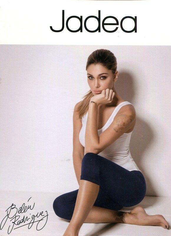 Leggings Capri Donna. Leggings Jadea in cotone elasticizzato in Tinta Unita.Modello come foto
