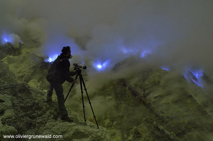 The Mystery of the Blue Flames - Kawah Ijen Volcano, Indonesia