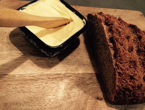 Zelf gebakken bostelbrood