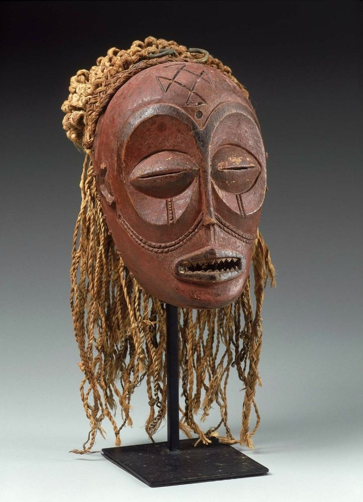 apparently an African Mask