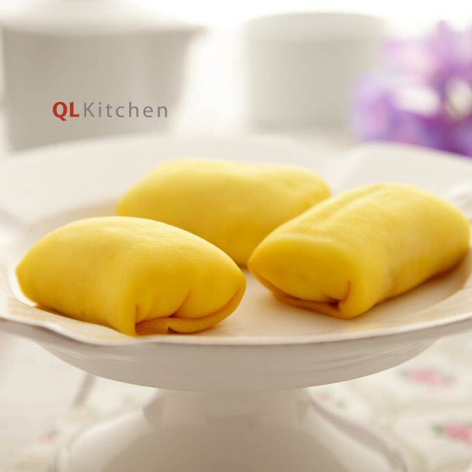 This special Durian Crepe recipe is a true local favourite…we hope you enjoy! Most durian lovers fall in love with this durian crepe recipe on the first bite. With a thin and light layer of crepe w…