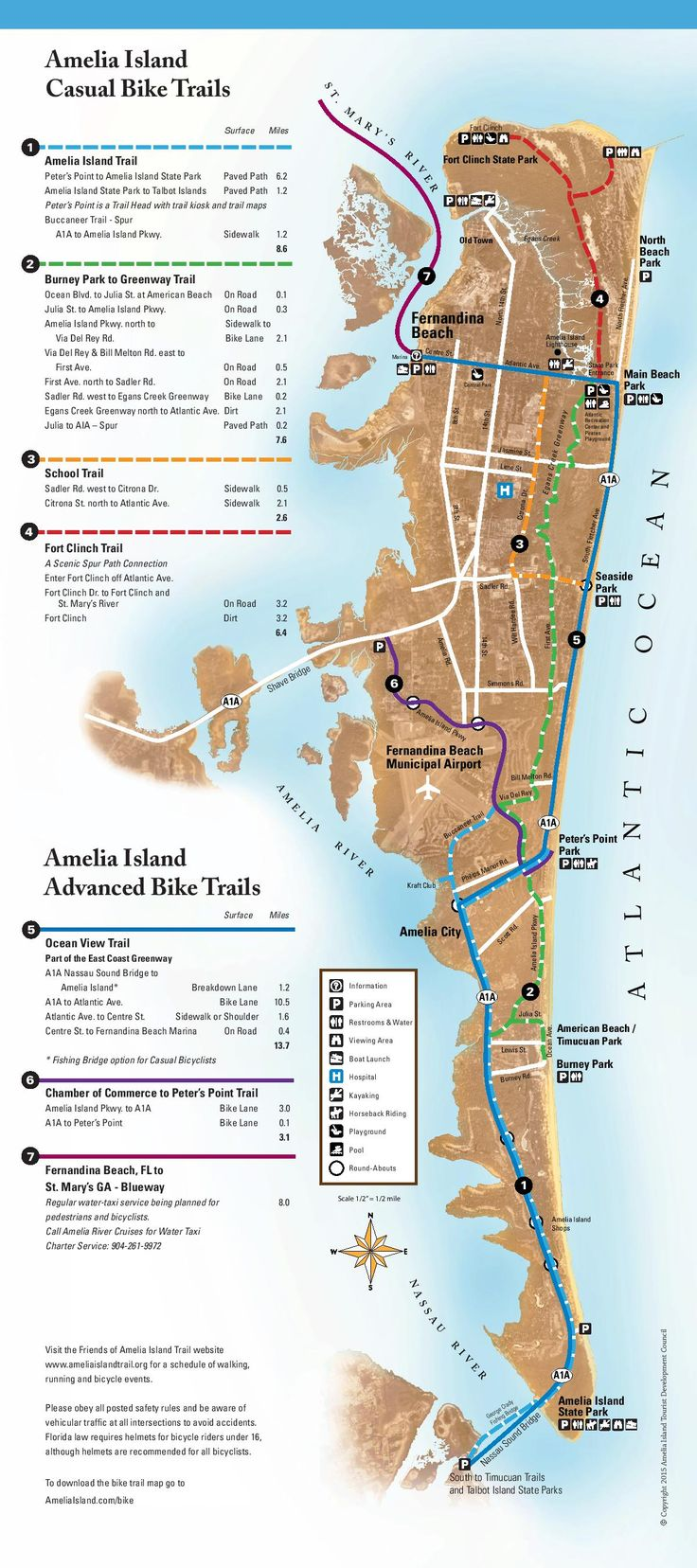 Bicycling on Amelia Island - Amelia Island, Florida