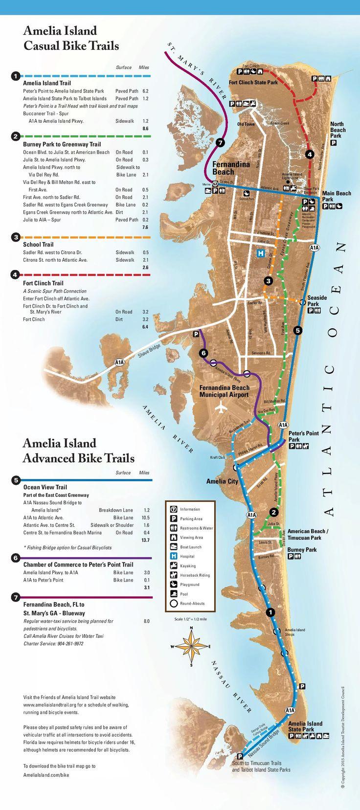 Bicycling on Amelia Island - Amelia Island, Florida