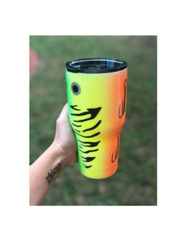 Fishing Lure Tumbler Fathers Day Gift Epoxy Custom Tumbler Cup Personalized Steel Tumbler Tumbler Gift for Him Wine Tumbler Travel Mug