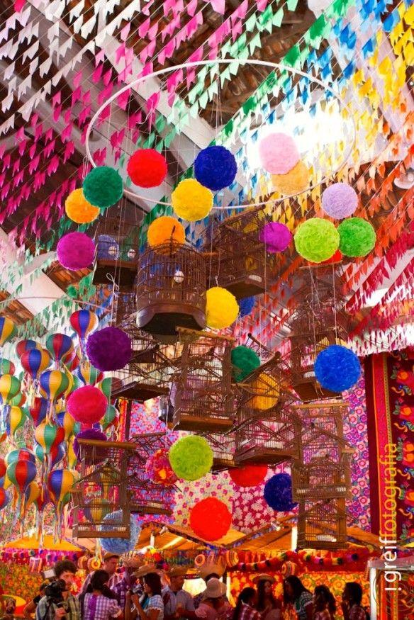 decoração - festa junina