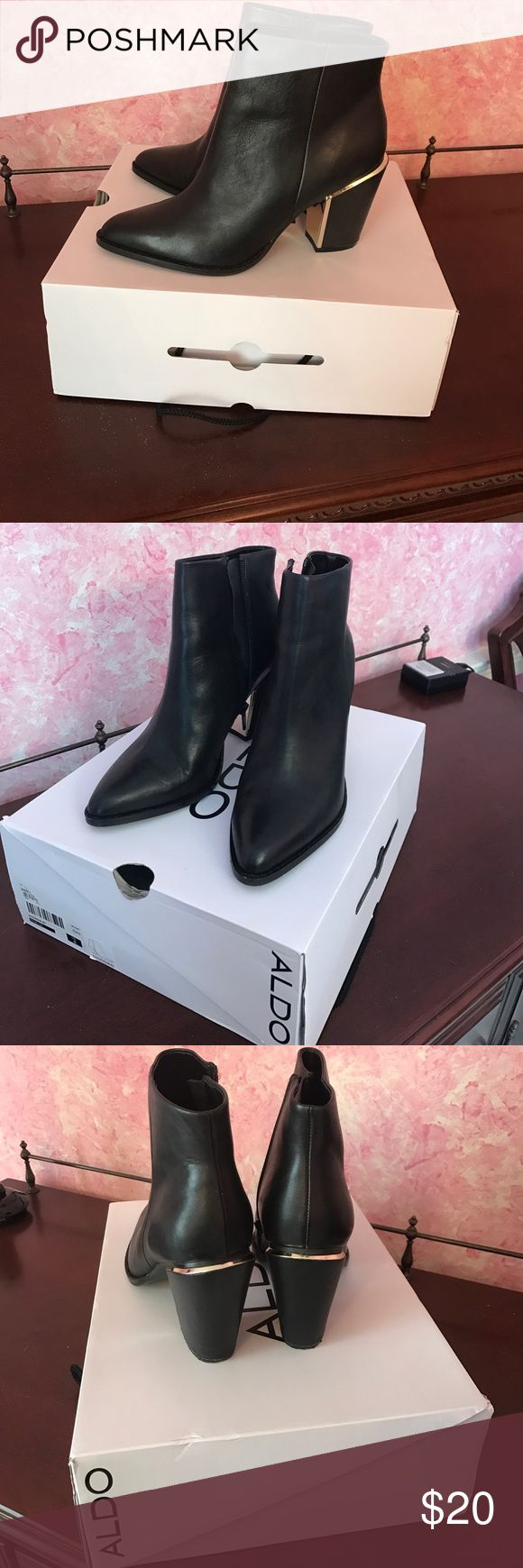 Aldo Ankle Boots Aldo, size 8, short ankle boots, worn once. Aldo Shoes Ankle Boots & Booties