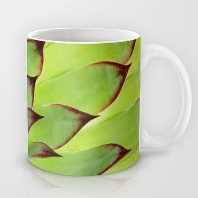 Flower succulent plant #Mug by Katho Menden - $15.00 #Tasse #grün #green