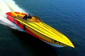 I have always wanted to go powerboat racing - my grandfather would not be impressed!