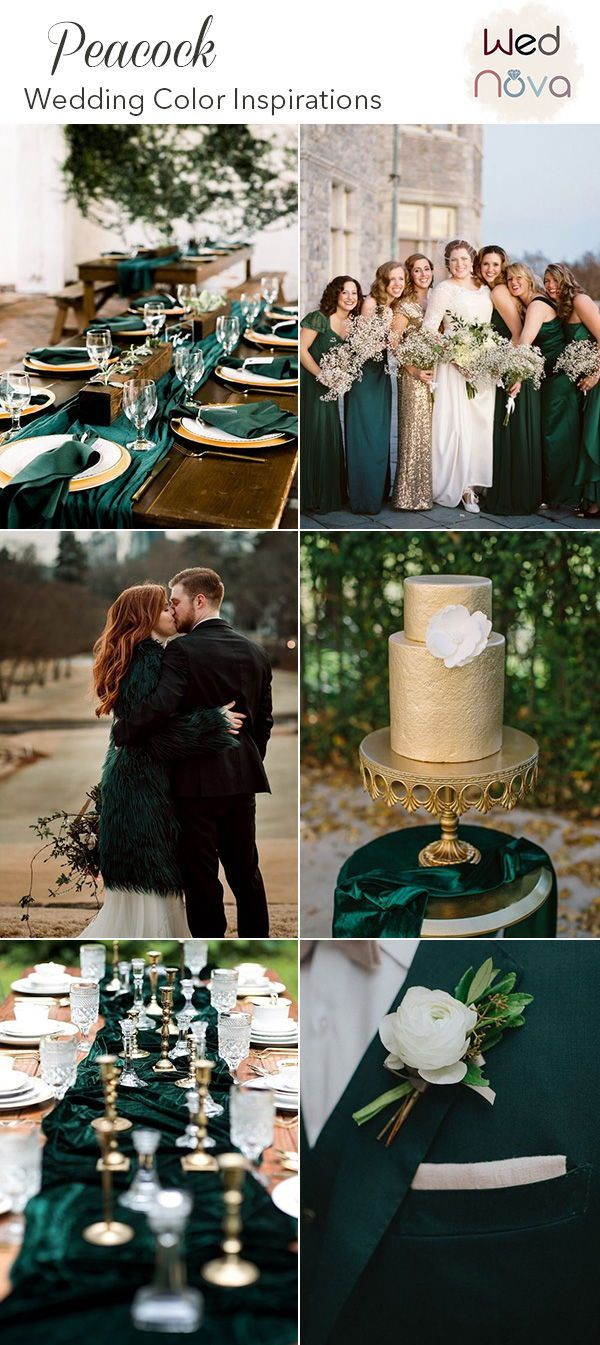 10 Timeless Peacock Wedding Inspiration Combinations That Are Totally Crushing It Peacock Wedding Theme Peacock Wedding Colors Peacock Wedding
