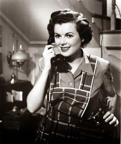 "Vintage Glamour Girls: Barbara Hale in "" The Jackpot """