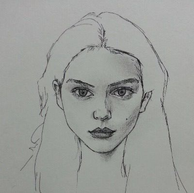 Pin de Alma Flores en Sketches | Trabajos de arte ...