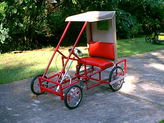 build your own four wheel bike or pedal car, plans and ...