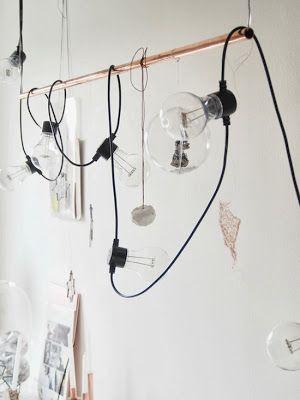 Méchant Design: Mette's work space