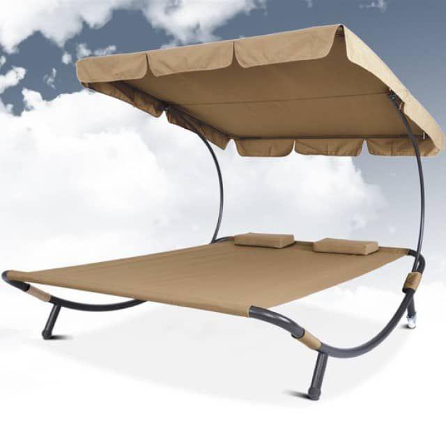 2017 Doppel Sonnenliege Mit Dach