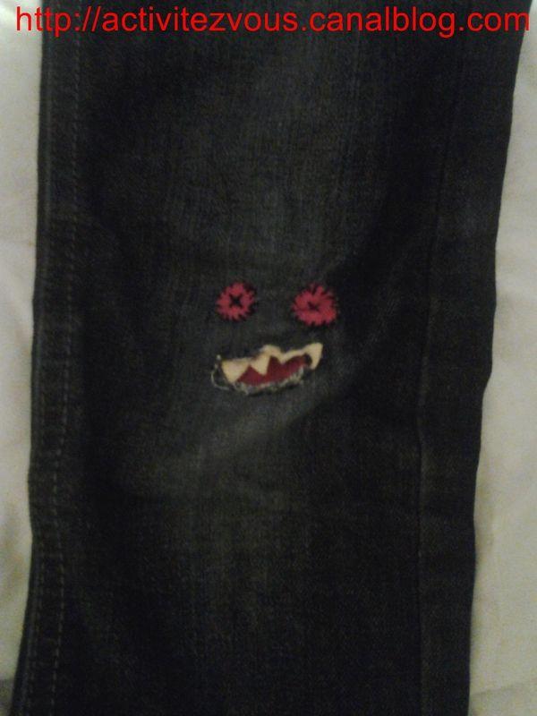 COUTURE: Jeans arrach�