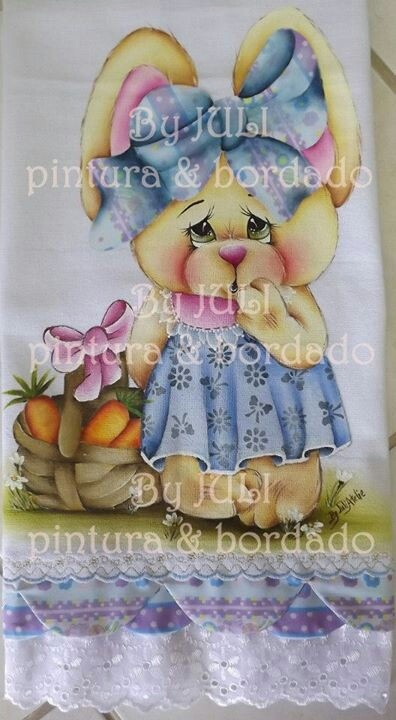 Fabric Painting Tole Animal Paintings Decorative Projects Caldeira Easter Colouring Printable Pictures