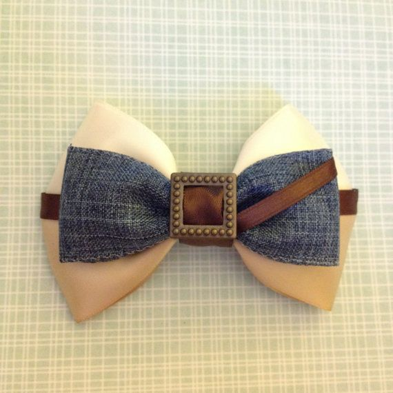 Flynn Rider Tangled Inspired Bow by SmallWorldBows on Etsy, $9.00