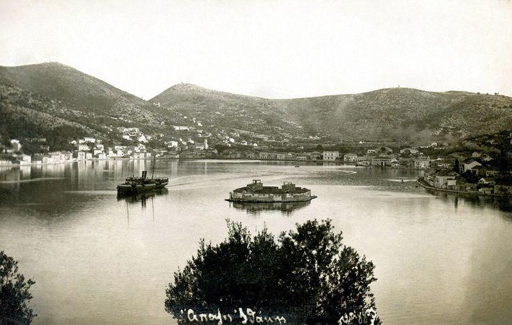 Καρτ-ποστάλ της Ιθάκης στις αρχές του 20ού αιώνα. / The island of Ithaca, early 20th century.