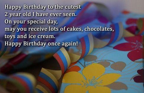 Birthday Wishes For 2 Year Old Happy 2nd Birthday Quote Birthday Happy 2nd Birthday Birthday Boy Quotes Birthday Wishes