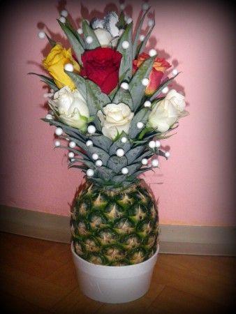 Rozkvetlý ananas