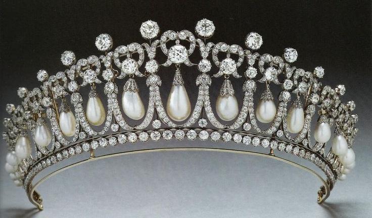 Tiara Lovers Knot de la princesa Diana de Gales