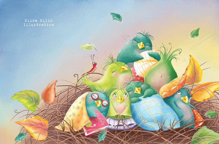 I have finished another picture book for Piccadilly Press! And it is fantastic! It is about one very cute little green bird, who felt a bi...