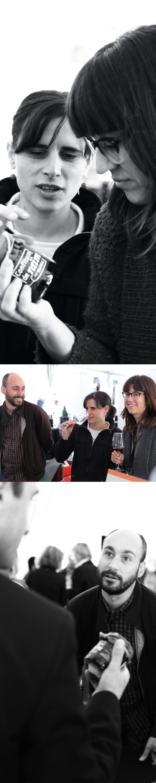 Ein kleiner Plausch mit den Winzern der biologischen Weingüter Mesquida Mora und Can Majoral über ihre Weine und Konfitüren. Die Winzer auf Mallorca kennen sich untereinander sehr gut und Neid oder Missgunst sind äußerst selten. So ist eine Weinmesse wie ein Treffen mit Freunden! #wine #fair #winefair #messe  #weinmesse #tasting