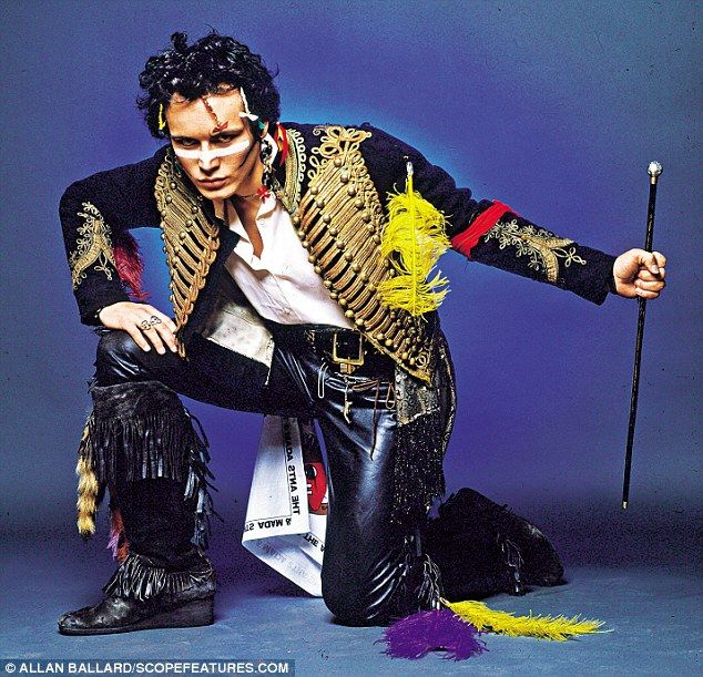 Stand and deliver... a costume if you please: This iconic military jacket was originally used in the1968 film The Charge Of The Light Brigade as a costume for one of the doomed British cavalry officers. Adam Ant spotted it in1980 in the Angels' military department while searching for a dramatic new look for his New Romantic music