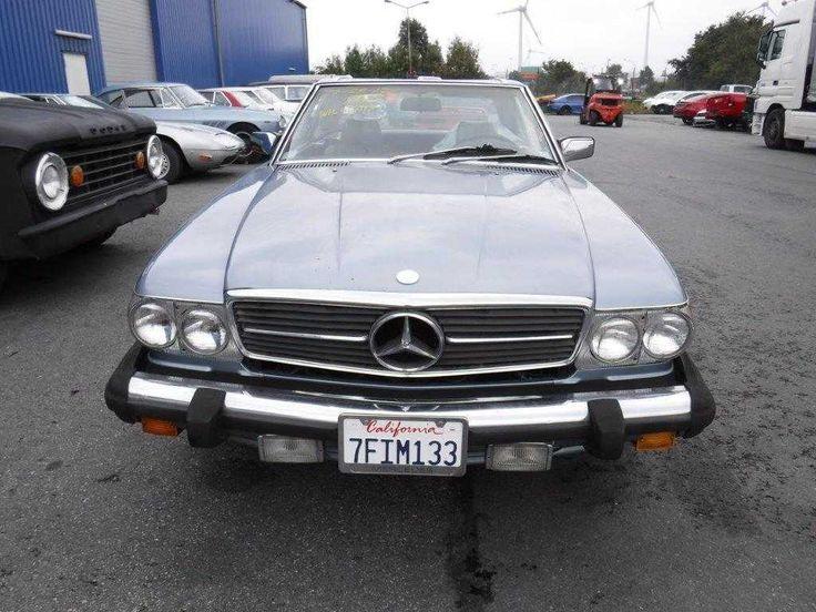 Mercedes 560SL, Bj. 1986, tolle Farbkombination, 124.000 Meilen, ex. Kalifornien