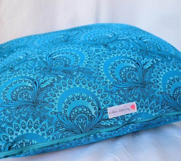 Pockets of Beauty - Scatter cushion in Shweshwe