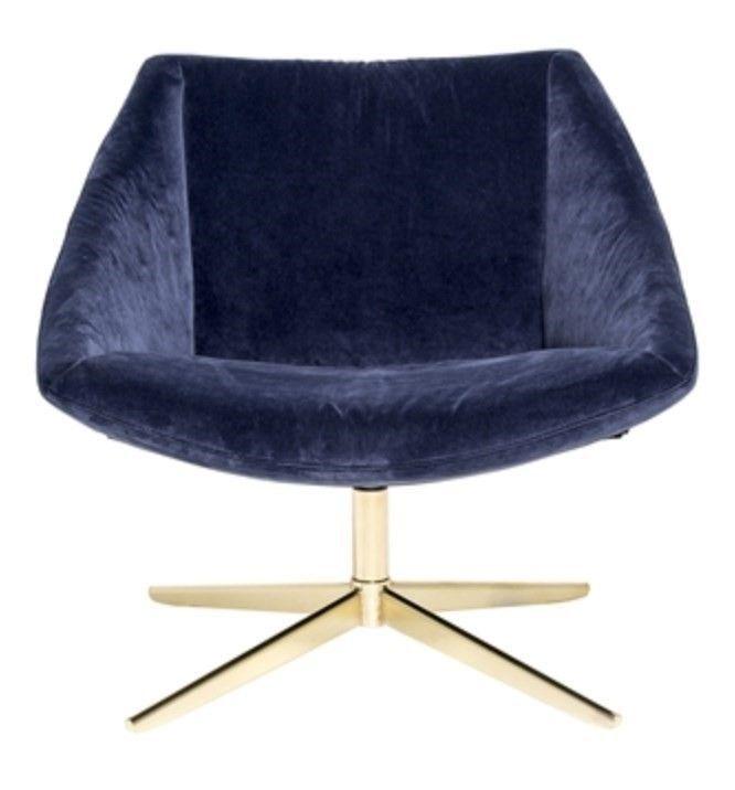 """Bloomingville The elegant chair (Blue), Bloomingville, Tryk på Gå til varen – for at se mere Fragt 19 kr. / fri fragt over 599 Trustpilot:  8.5*  https://dk.trustpilot.com/review/www.brandavenue.dk  """"The elegant chair"""" fra Bloomingville Elegant chair i smuk blåt velour med galvaniseret stålben i guld finish - køb den her på shoppenElegant chair er en """"eyecatcher"""" i ethvert rum, og med kombinationen af et nordisk design og lækre materialer, giver de..."""