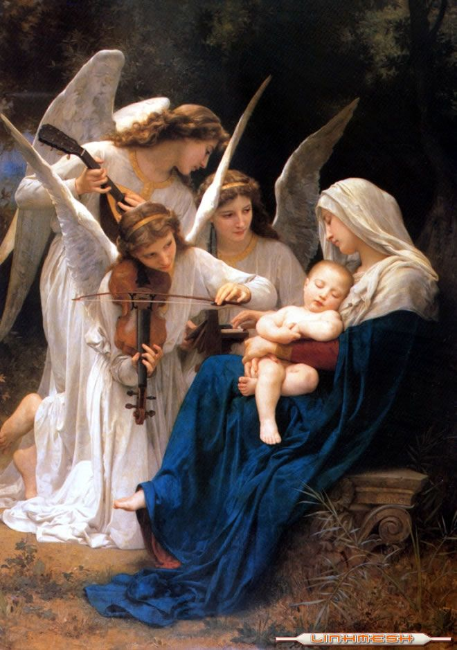 Angels song: Angel Plays, Religious Art, Jesus Mary, De Angel, Mothers Mary, Baby Jesus, The Angel, Guardians Angel, Angel Baby