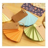 Cute Stationery Ring diary book Note Pads Memo Sticky Notes stationery Label Paper papeleria office material school supplies