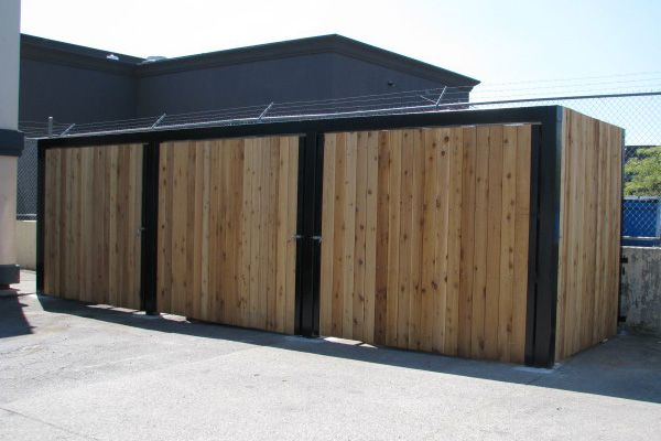 Custom Commercial Garbage Dumpster Enclosures – BC Site Service