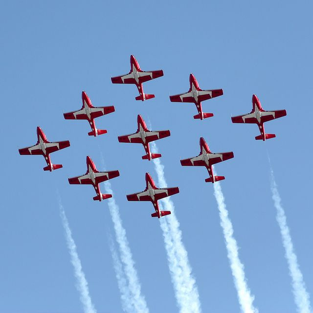 Canadian Snowbirds | photo