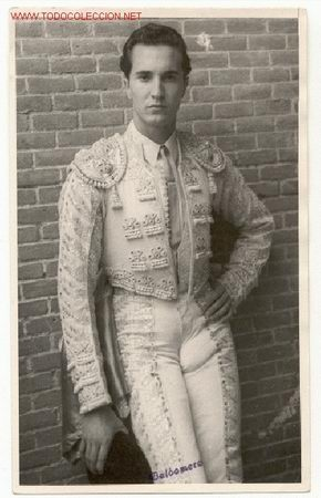Luis Miguel Dominguin - Famous bullfighter.  Spanish Icon.