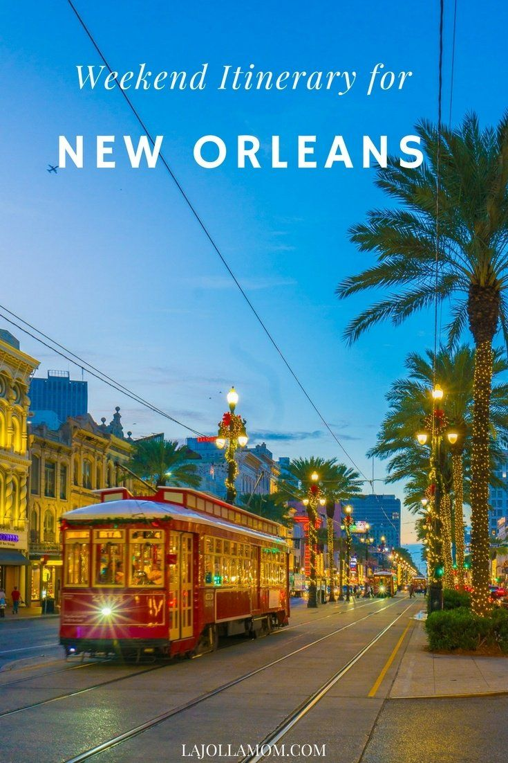 Find the best things to do in New Orleans over a long weekend. #OneTimeinNOLA #ad