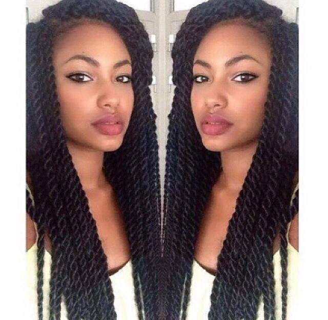 Stupendous 1000 Ideas About Senegalese Twists On Pinterest Box Braids Short Hairstyles Gunalazisus