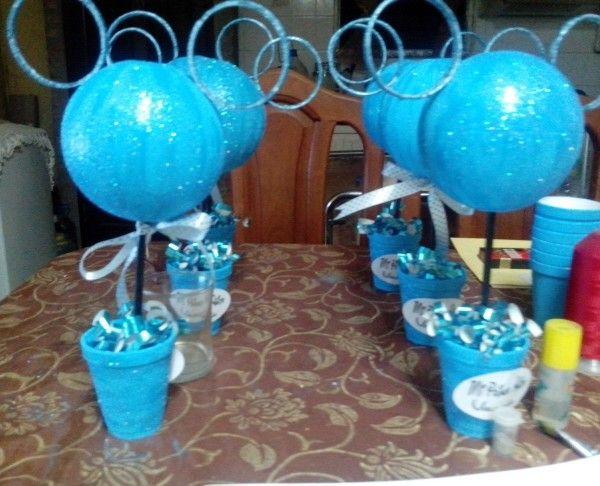 Centros de mesa infantil artistic li pinterest - Mesas infantiles de plastico ...