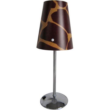 limelights mini silver table lamp with plastic printed shade multicolor - Lamp Shades For Table Lamps