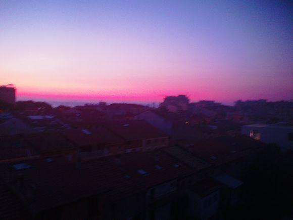 skyline of civitanova marche