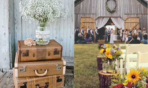 Gosta do estilo sertanejo? Que tal um casamento country? Veja sugestões de decoração: http://enfimnoivei.com/decoracao-casamento-country/ #enfimnoivei #casamento #decoração