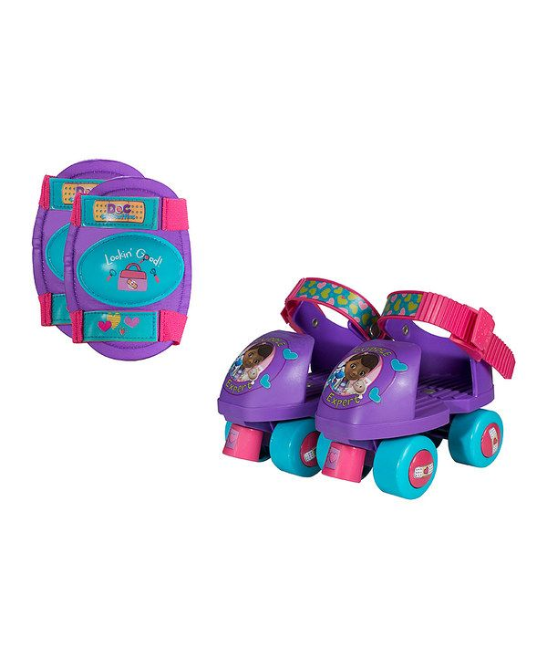 Look at this Doc McStuffins Skate Set on #zulily today!