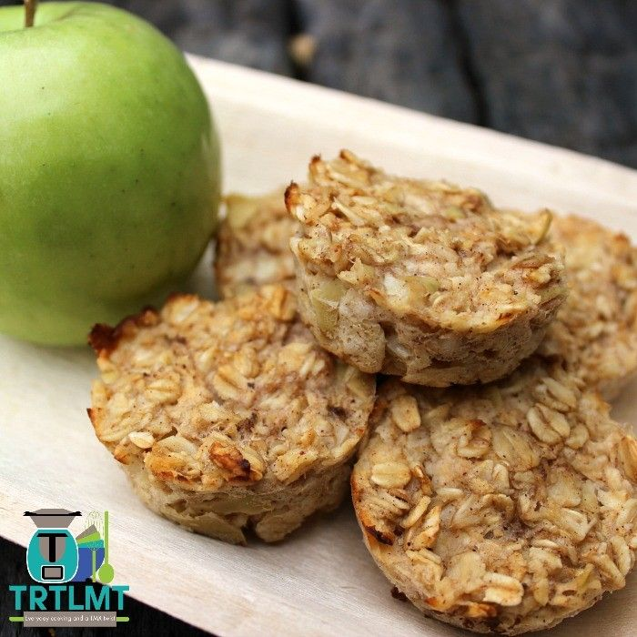 Apple and Banana Oat Pods